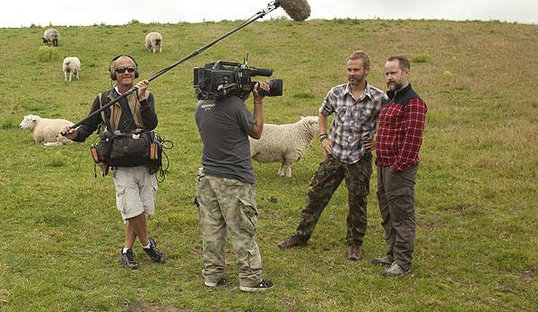 Dominic Monaghan cameraman frank